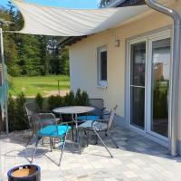 Ferienhaus Paula am Klostersee, Urlaub mit Hund, Hotel in Dargun