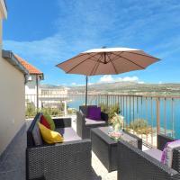 Apartment with a sea view terrace, Čiovo near Trogir