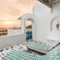 Yoga Guest House New Port Mykonos, hotel in Tourlos