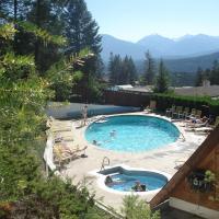 Motel Tyrol, hotel em Radium Hot Springs