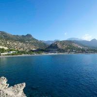 Beachfront Villa on Crete - Kirvas, hôtel à Koutsounari