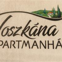Toszkána Apartmanház, hotel in Bogács