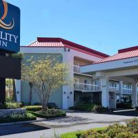 Quality Inn Gulfport I-10, hotel near Gulfport-Biloxi International Airport - GPT, Gulfport