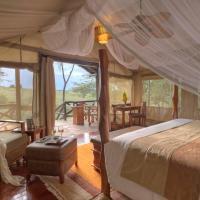 Sarova Mara Game Camp, hotel in Sekenani