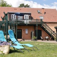 Lindenhof Wohnung 3, Dachgeschoß, Hotel in Vipperow