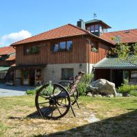 Ekofarma Horní Chrášťany, hotel v destinaci Lhenice