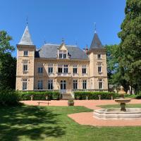 Château des Mussets, hotel in Magnet