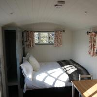Shepherds Hut on a Cotswold Farm near Castle Combe