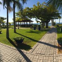 Apartamento 40 RISC - Na Beira da Praia, Pé na Areia, 2 Quartos c/ Ar Split, 2 Bwc, Churrasq