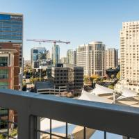 Amazing Views @ High-Rise Lux & Center of All 1BR