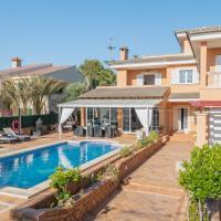 Villa Bruno, aire acondicionado, piscina, barbacoa, wifi, parking, a 400 m de la playa