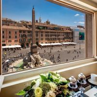 Eitch Borromini Palazzo Pamphilj, hotel en Navona, Roma