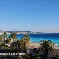Sea view - NICE - Promenade des anglais - 100m2 - 3 bedrooms - 6 persons - Standing