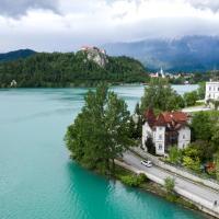 Adora Luxury Hotel (ex Vila Istra), hotel in Bled