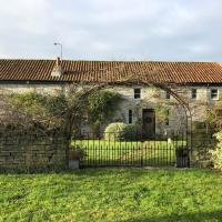 Peaceful stone barn conversion in Somerset