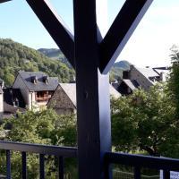 Le balcon face à l'Aspin