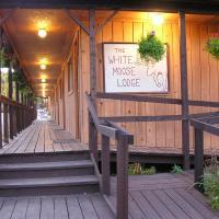 White Moose Lodge、ヒーリーのホテル
