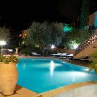 Athénopolis、グリモーのホテル