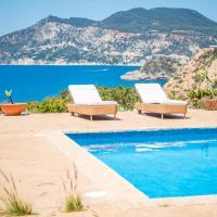 Exclusiva Villa vista mar 100 mt de Blue Marlin, hotel a Sant Josep de sa Talaia