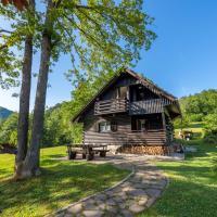Tranquil hillside cottage near Ljubljana