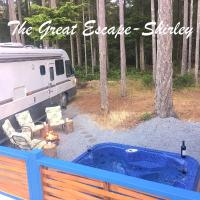 The Great Escape - Shirley - Secluded with Hot Tub, hotel em Sooke