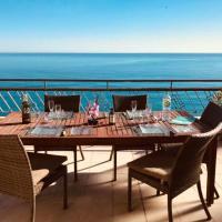 Amazing Top Floor Penthouse 30m2 Terrace, Front Sea View on Promenade Des Anglais