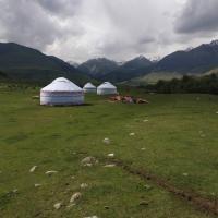 Yurt Camp Jannat in Kyrchyn