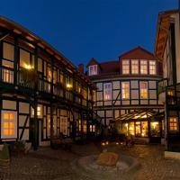 Hotel Am Grudenberg, отель в городе Хальберштадт