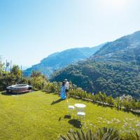 Chez Lia. Vista Mare e giardino. Ravello, Costiera Amalfitana