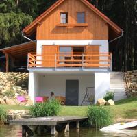 Chata u rybníka Komorník - Česká Kanada