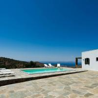 Traditional cycladic stone villa in Kea