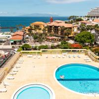 BEACH APT WITH SEA VIEW & POOL, 50 STEPS TO THE SEA, hotel in Playa Fañabe