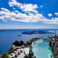 Honeymoon Petra Villas, hotel in Imerovigli