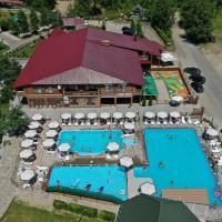 Chorna Skelya, hotel Nagyszőlősön