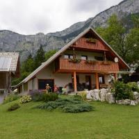 Mežnar's beautiful nature holiday house Ukanc