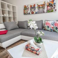 Moderne Souterrain-Wohnung