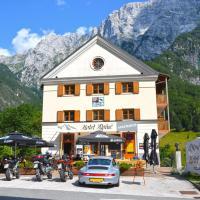 Garni Hotel Alpine, hotel in Log pod Mangartom