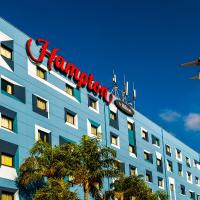 Hampton by Hilton Guarulhos Airport, hotel perto de Aeroporto Internacional de São Paulo - Guarulhos - GRU, Guarulhos