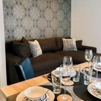 Schöne, neue Ferienwohnung am Rhein und mit Balkon, hotel in Bingen am Rhein
