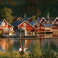 Norrfällsvikens Camping, Stugby & Marina, hotell i Mjällom