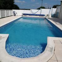 Maison individuelle et piscine
