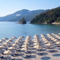Makryammos Bungalows: Limenas'ta bir otel