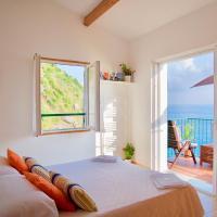 La Marinarooms suite with sea view terrace, hotel in Vernazza