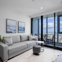 Skyline seaview 2BR with CARPARK&POOL&GYM@Crown