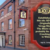 The Black Lion Hotel, hotel in Cardigan