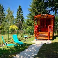 Gîte Roulotte - La clé du bonheur, hôtel à Orve