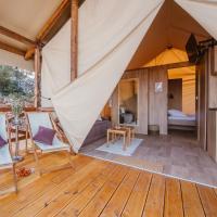 Glamping Tents and Mobile Homes Trasorka, hotel in Veli Lošinj