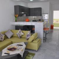 Neue Wohnung, ruhig, 150 m vom Strand, free Wi-Fi, hotel in Mahdia