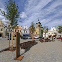 Hotel U Zlatého Lva, hotel in Havlickuv Brod