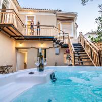 Levkosh Apartments at Lefkada's Heart